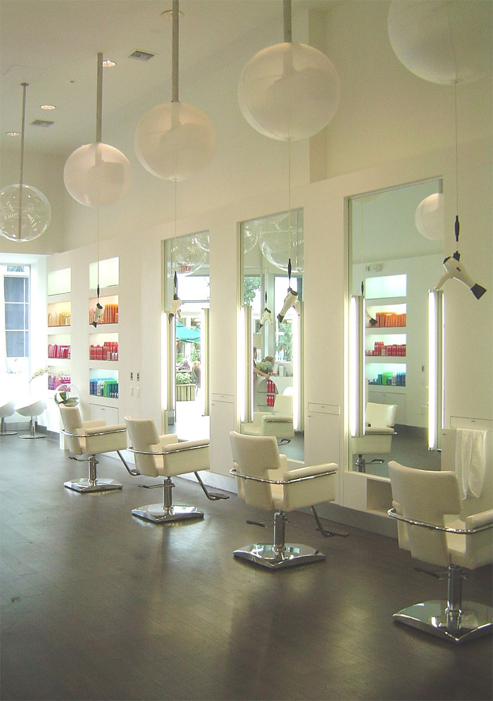 Salon galleries samy style beauty lounge for Hair salons designs ideas