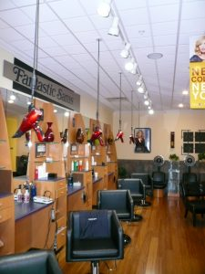 Cypress lake salon - dryers from above 2