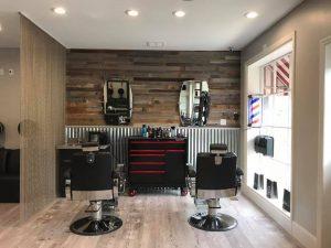 5 Klickers Hair Studio suspended hair dryers