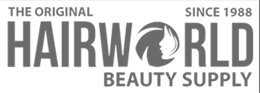 Hairworld Beauty Supply Logo