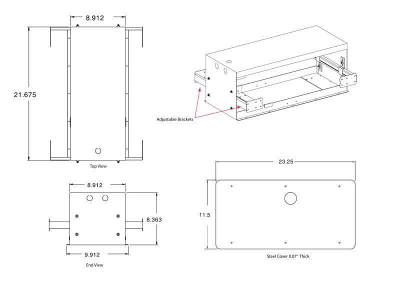 Installation of weightless dryer system between joists