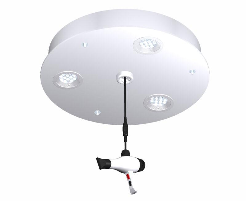 LP02.3 White light platform. Perfect beauty salon lighting